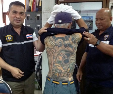 Wpadka bossa yakuzy. Zdradziły go tatuaże