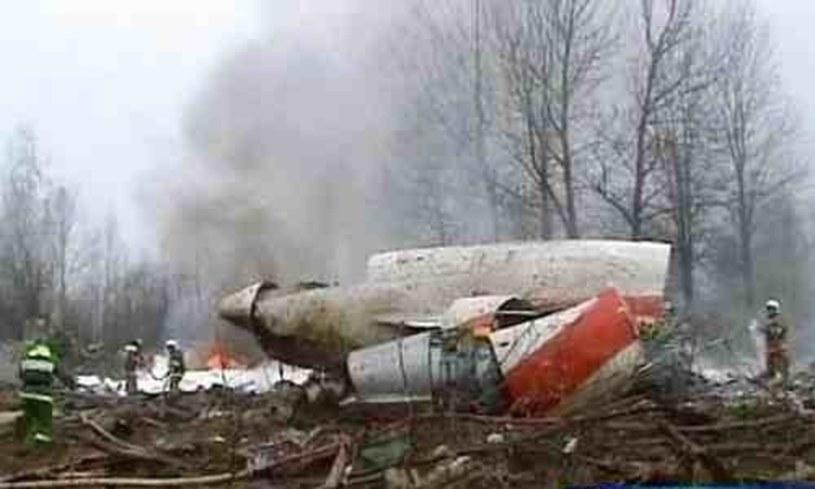 Wrak polskiego Tu-154M /STANISLAW KOWALCZUK /East News