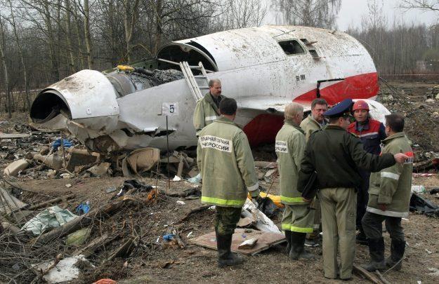 Wrak Tu-154M /PAP/EPA
