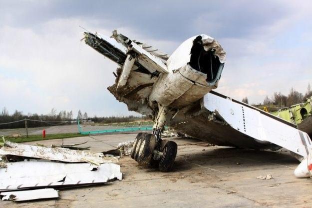 Wrak tupolewa, fot. RIA Novosti /East News