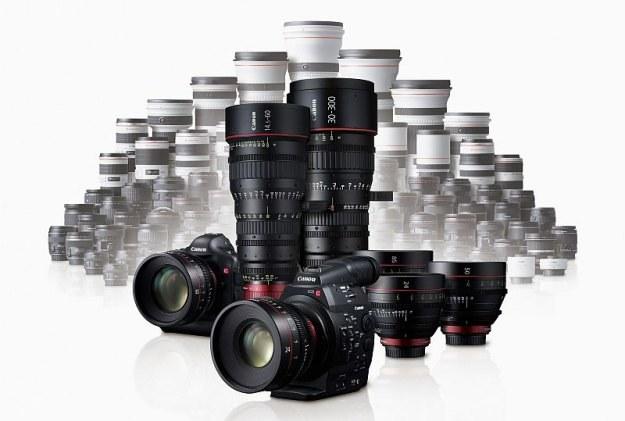 Wraz z debiutem systemu Cinema EOS Canon zaprezentował siedem nowych obiektywów filmowych 4K EF /materiały prasowe