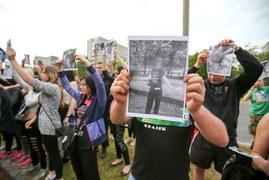 Wrocław: Kolejna manifestacja po smierci Igora S.