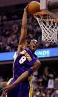 Wsad Koby'ego Bryanta w wygranym meczu z Wizards