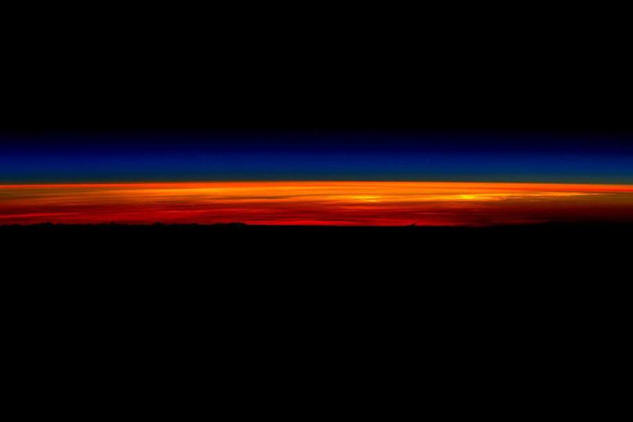Wschód Słońca na ISS /NASA /materiały prasowe