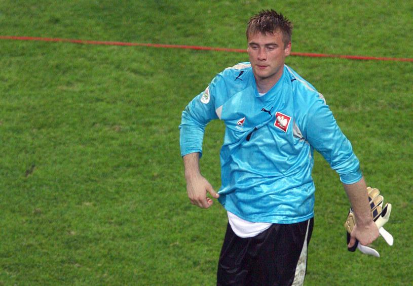 Wściekły i rozżalony Artur Boruc po porażce 0-1 z Niemcami na mundialu 2006 /AFP