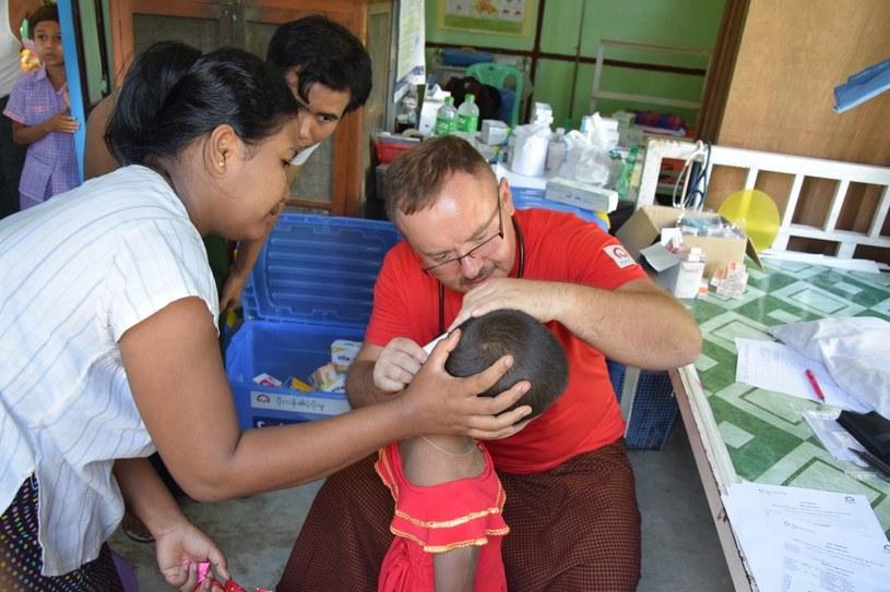 Wsparcie PMM dla mieszkańców Birmy /