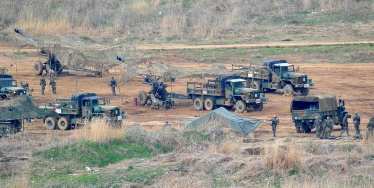 Wspólne ćwiczenia trwały dwa miesiące /AFP