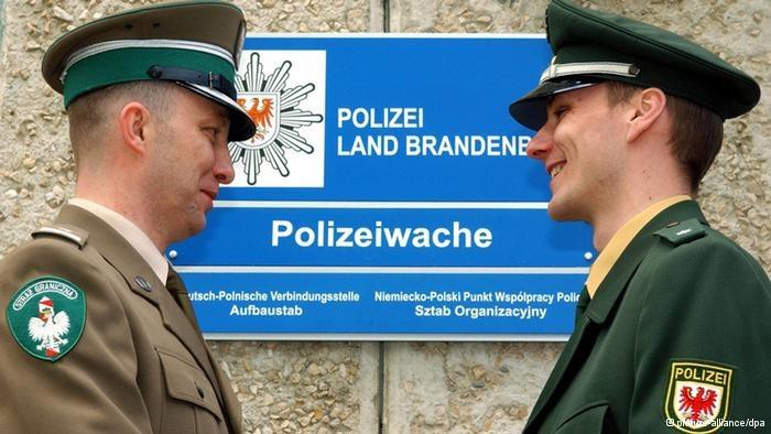 Współpraca policji w regionie pogranicza już istnieje. Można ją jednak znacznie rozbudować. /Deutsche Welle