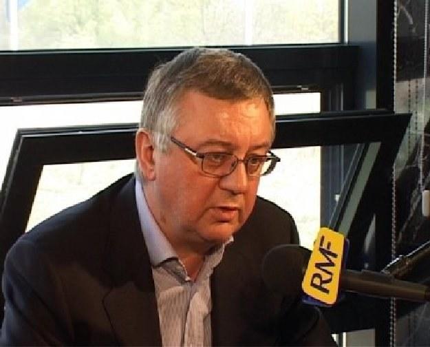 Współwłaściciel Cracovii prof. Janusz Filipiak /INTERIA.PL