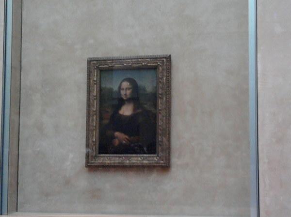 PARYŻ - słynna Mona Lisa