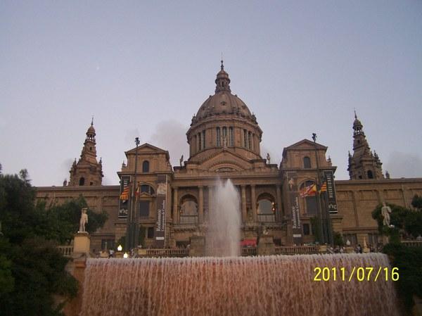 HISZPANIA - Barcelona_Fontana Magica
