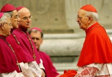 Wśród nowych biskupów jest Polak /AFP