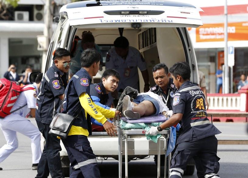 Wśród rannych są cudzoziemcy, według agencji EFE, powołującej się na policję, poszkodowani zostali czterej Niemcy, dwaj Holendrzy, dwaj Włosi i obywatel Australii /PAP/EPA