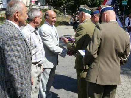 Wśród uhonorowanych znalazł się płk Andrzej Machlowski/fot. B. Bieńkowski /Euroregio Glacensis