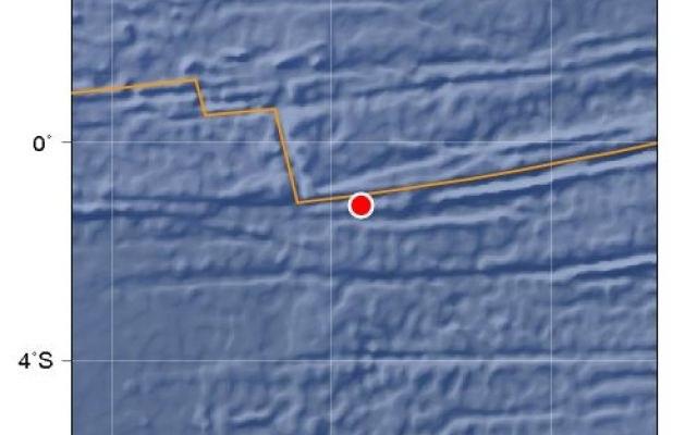 Wstrząs wystąpił na głębokości zaledwie 10 kilometrów pod dnem morskim /materiały prasowe