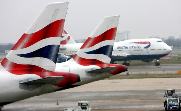 Wszystkie sobotnie loty British Airways odwołane z powodu awarii