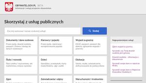 Wszystkie urzędy pod jednym adresem: www.obywatel.gov.pl