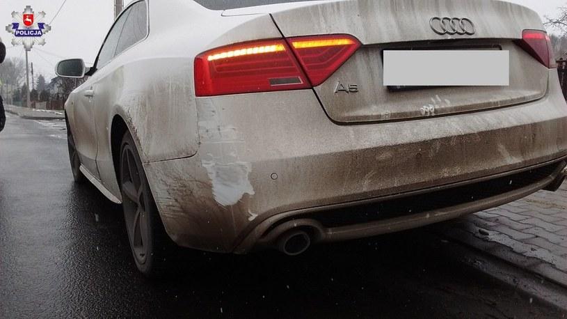Wszystko zaczęło się od najechania na Audi A5 /