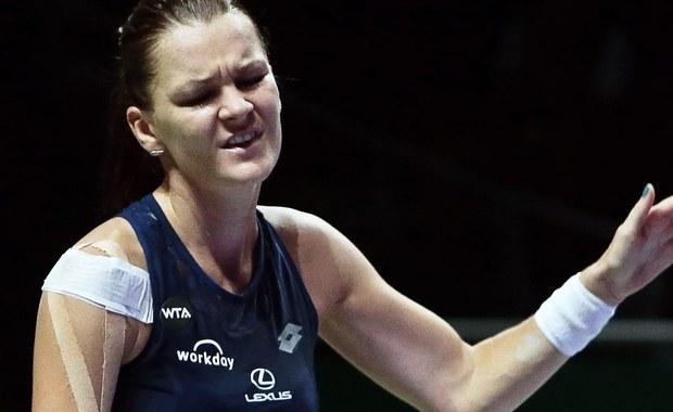 WTA Finals: Agnieszka Radwańska przegrała z Włoszką Flavią Pennettą
