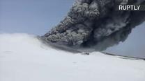 Wulkan Kambalny na Kamczatce uaktywnił się po raz pierwszy od 250 lat