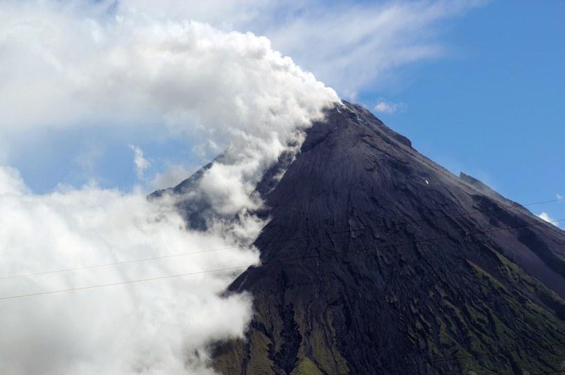 Wulkan Mayon /AFP