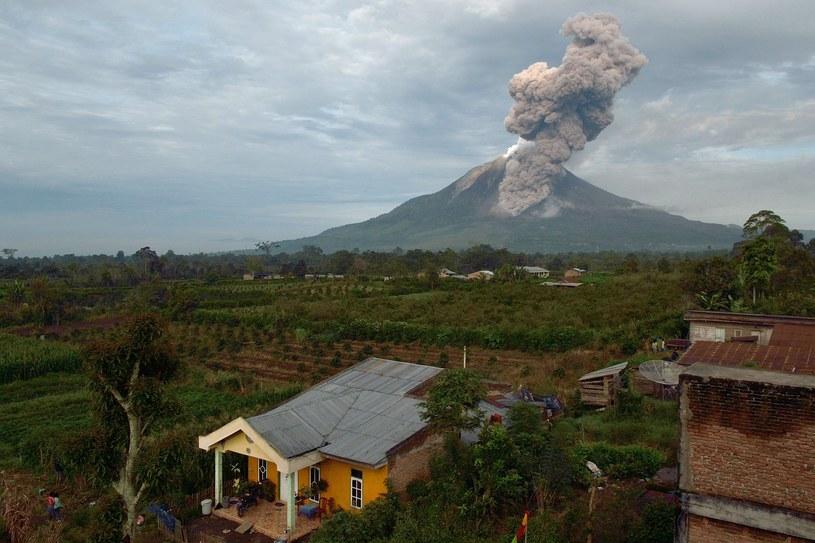 Wulkan Sinabung /AFP