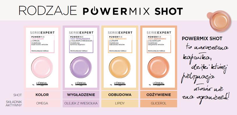 Wybierz swój Powermix Shot /materiały prasowe