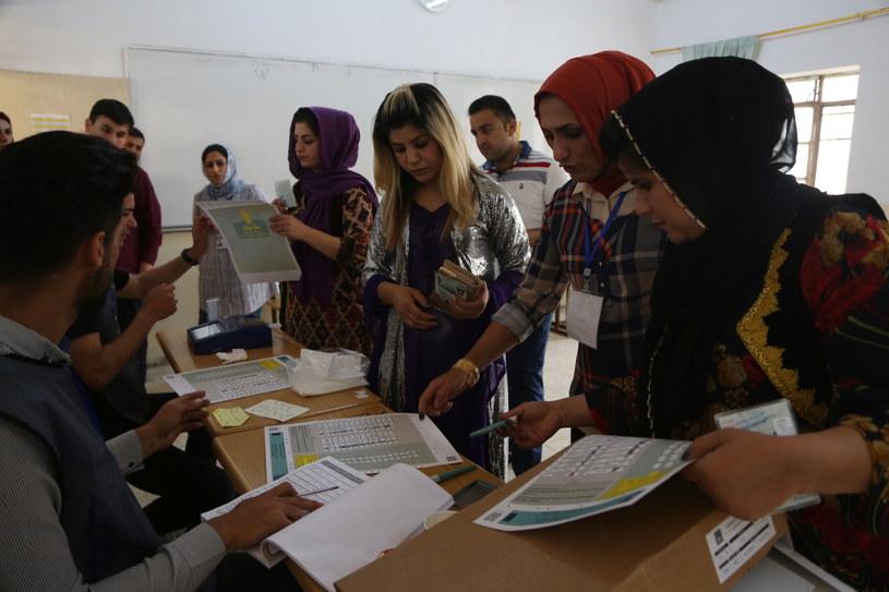Wybory w Iraku /GAILAN HAJI /PAP/EPA