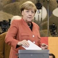 Wybory w Niemczech. Angela Merkel oddała głos w Berlinie