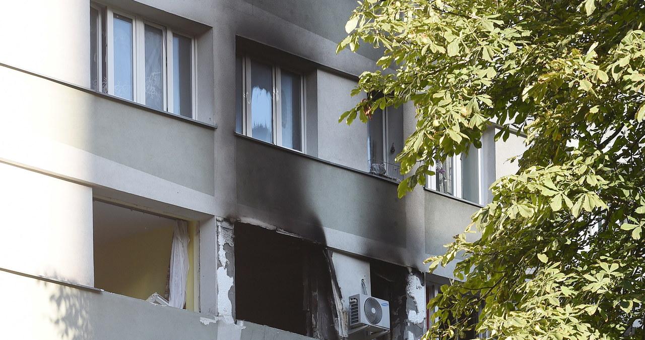 Wybuch gazu w bloku przy ul. Śliskiej w Warszawie