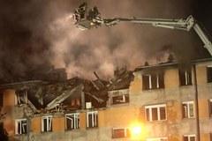 Wybuch gazu w bloku w Pruszkowie