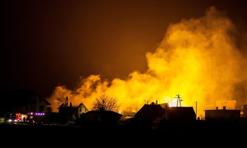 Wybuch gazu w Jankowie Przygodzkim /Paweł Jaskółka /East News