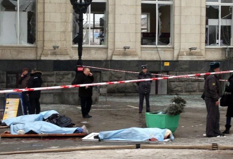 Wybuch na dworcu w Wołgogradzie był zamachem terrorystycznym /AFP