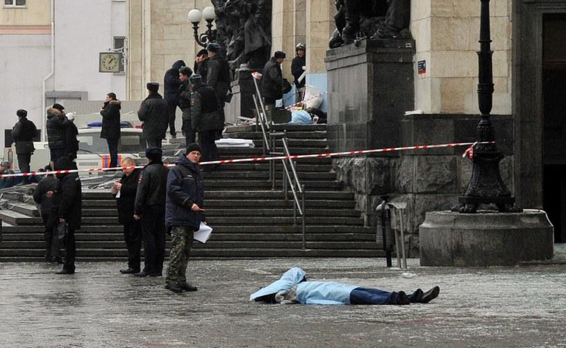 """""""Wybuch na dworcu w Wołgogradzie był zamachem terrorystycznym"""" /AFP"""