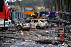 Wybuch na targowisku w Osinowie