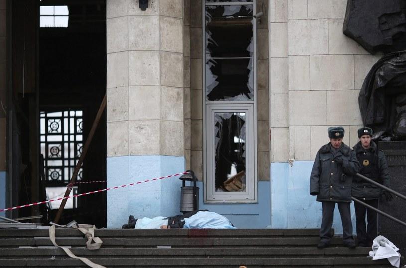 Wybuch nastąpił o godz. 12.45 czasu moskiewskiego (9.45 czasu polskiego). /PAP/EPA