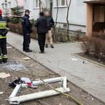 Wybuch w bloku w Łodzi. Prokuratura: To mogła być próba samobójcza
