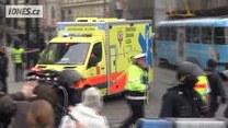 Wybuch w centrum Pragi