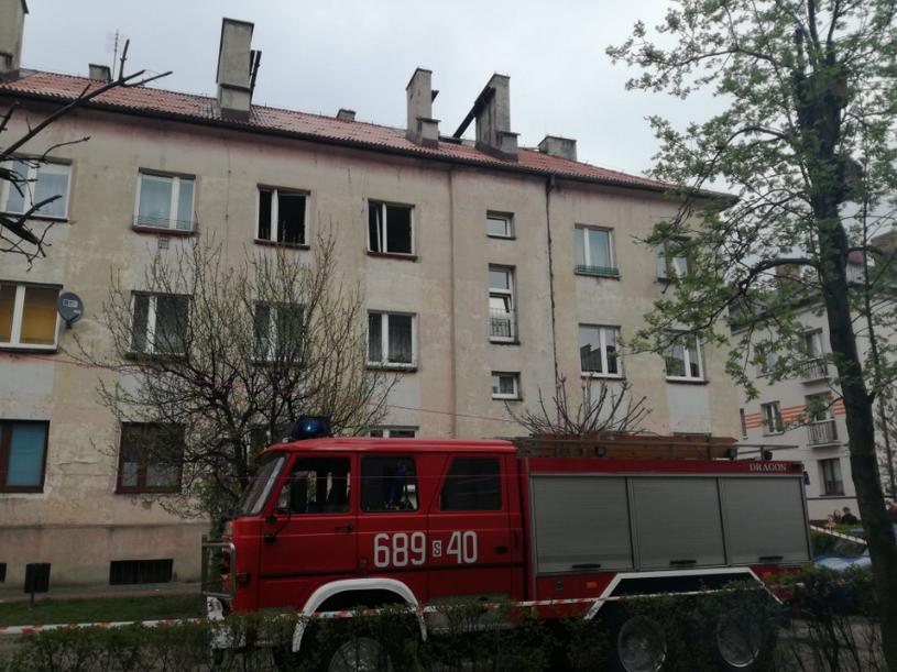 Wybuch w domu wielorodzinnym na Śląsku /Twitter /