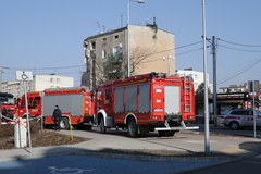 Wybuch w kamienicy w Poznaniu. Strażacy przeszukują gruzowisko