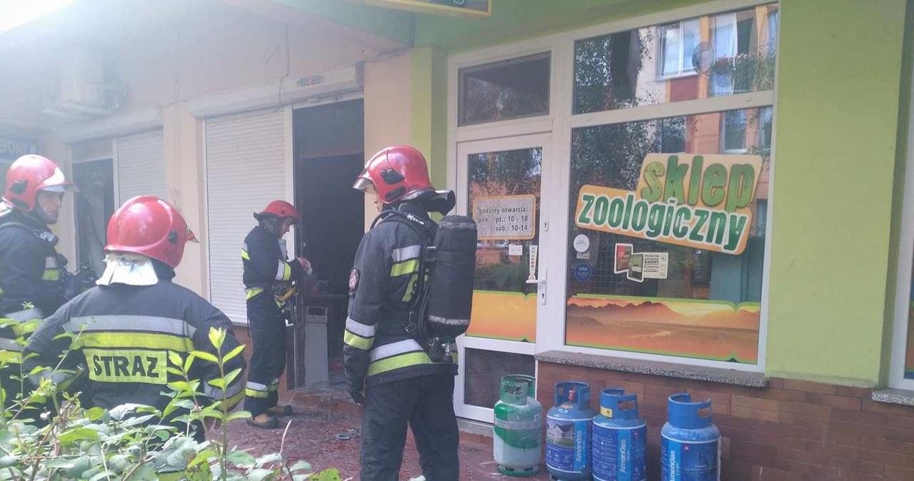 Wybuch w lokalu gastronomicznym w Legnicy