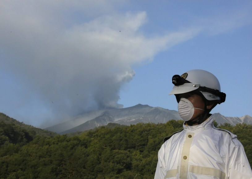 Wybuch wulkanu Ontake /PAP/EPA