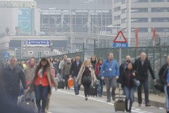 Wybuchy i panika na lotnisku w Brukseli
