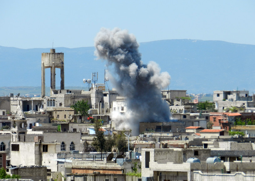Wybuchy w Syrii /AFP