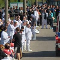 Wyciek amoniaku w zakładach mięsnych w Olsztynie. Kilkanaście osób poszkodowanych