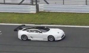 Wyczynowy Lexus LC już na torze!