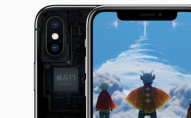 Wydajność iPhone'a X to efekt pracy układu A11 Bionic /materiały prasowe