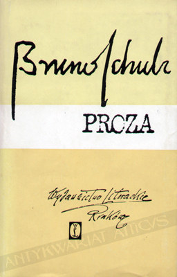 Wydanie prozy B.Schulza na papierze biblijnym /Materiały prasowe