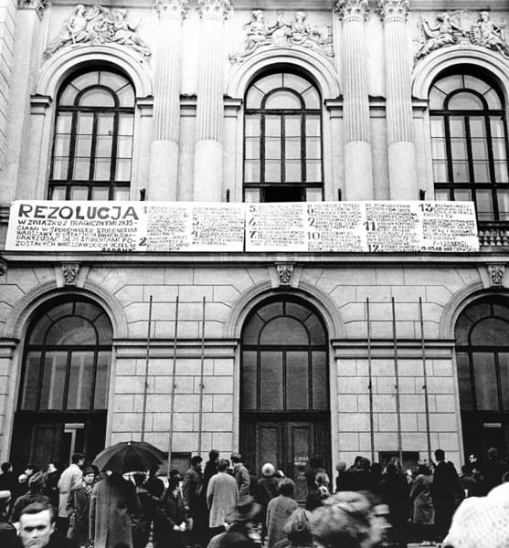 Strajk okupacyjny studentów Politechniki Warszawskiej, marzec 1968