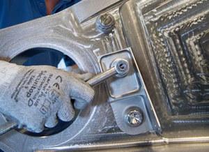 Wydrukowana część z tytanu zainstalowana w samolocie pasażerskim